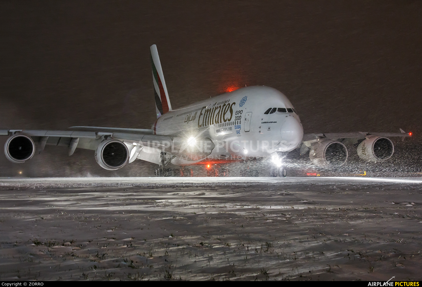 Emirates Airlines A6-EDT aircraft at Moscow - Domodedovo