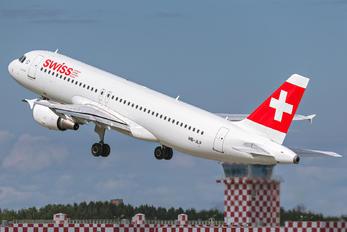 HB-JLP - Swiss Airbus A320