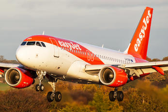 G-EZDP - easyJet Airbus A319