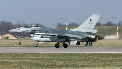 FA-98 - Belgium - Air Force General Dynamics F-16A Fighting Falcon