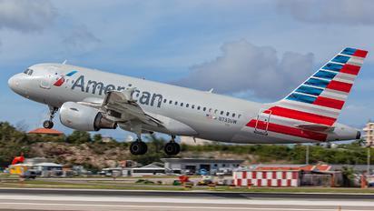 N733UW - American Airlines Airbus A319