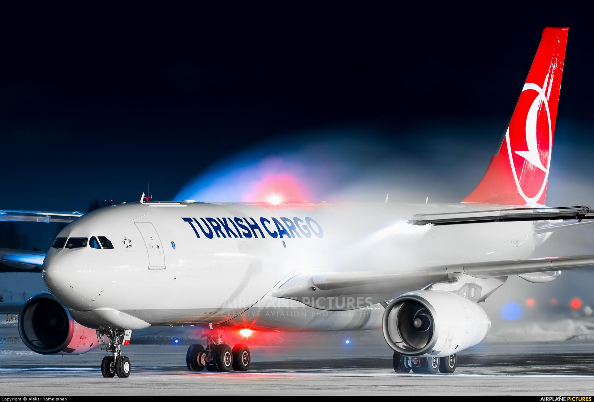Turkish Cargo TC-JOY aircraft at Helsinki - Vantaa