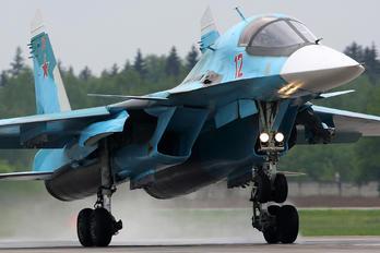 RF-95843 - Russia - Air Force Sukhoi Su-34