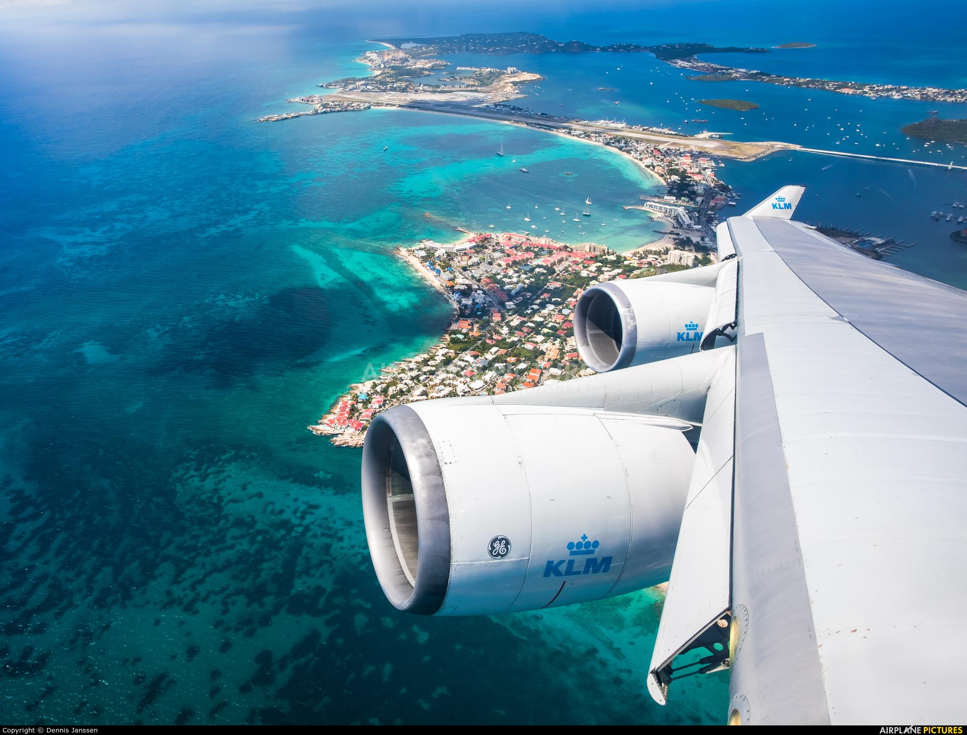 KLM PH-BFN aircraft at In Flight - Netherlands Antilles