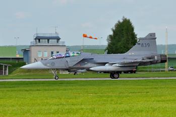 839 - Sweden - Air Force SAAB JAS 39D Gripen