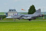 839 - Sweden - Air Force SAAB JAS 39D Gripen aircraft