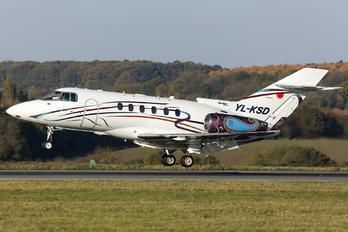 YL-KSD - KS Avia Hawker Beechcraft 850XP