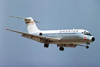 EC-CGZ - Spantax Douglas DC-9