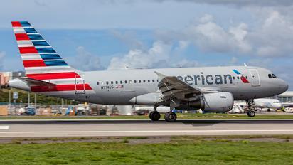 N714US - American Airlines Airbus A319