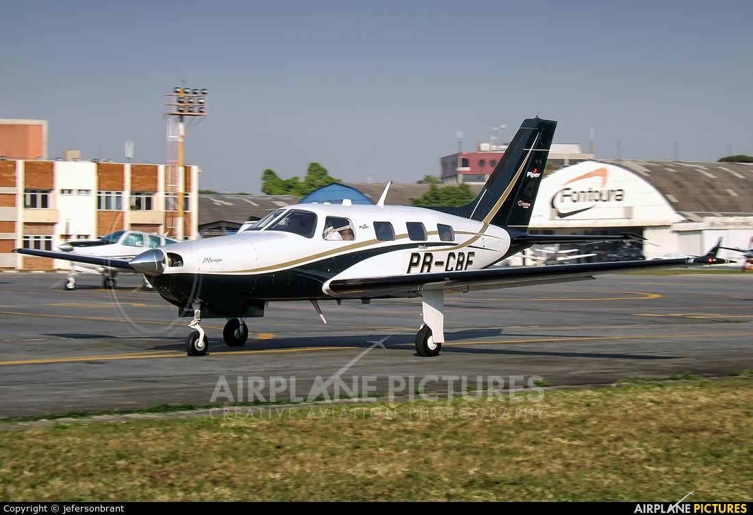 Private PR-CBF aircraft at São Paulo - Campo de Marte