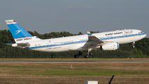9K-APC - Kuwait Airways Airbus A330-200 aircraft