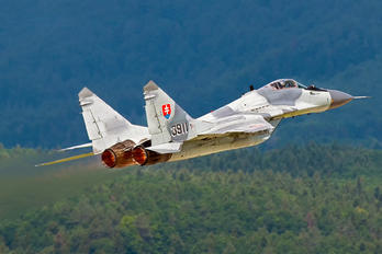 3911 - Slovakia -  Air Force Mikoyan-Gurevich MiG-29AS
