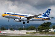New JetBlue Airway retro A320 title=
