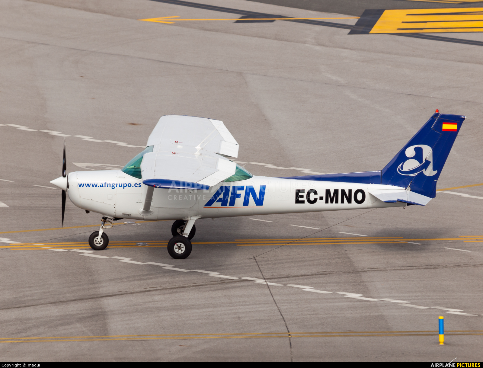 Aeroflota del Noroeste EC-MNO aircraft at La Coruña