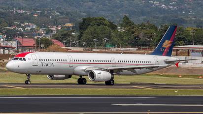 N568TA - TACA Airbus A321
