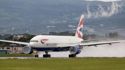 G-YMMB - British Airways Boeing 777-200