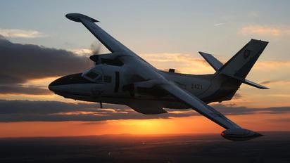 2421 - Slovakia -  Air Force LET L-410UVP Turbolet