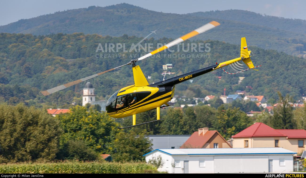 Czech Air Service OM-MOV aircraft at Prievidza