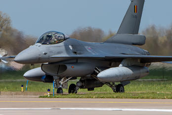FA-69 - Belgium - Air Force General Dynamics F-16A Fighting Falcon