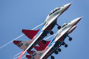 "31 - Russia - Air Force ""Strizhi"" Mikoyan-Gurevich MiG-29 aircraft"
