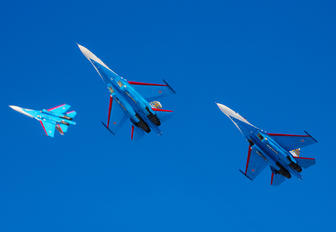 "17 BLUE - Russia - Air Force ""Russian Knights"" Sukhoi Su-27P"
