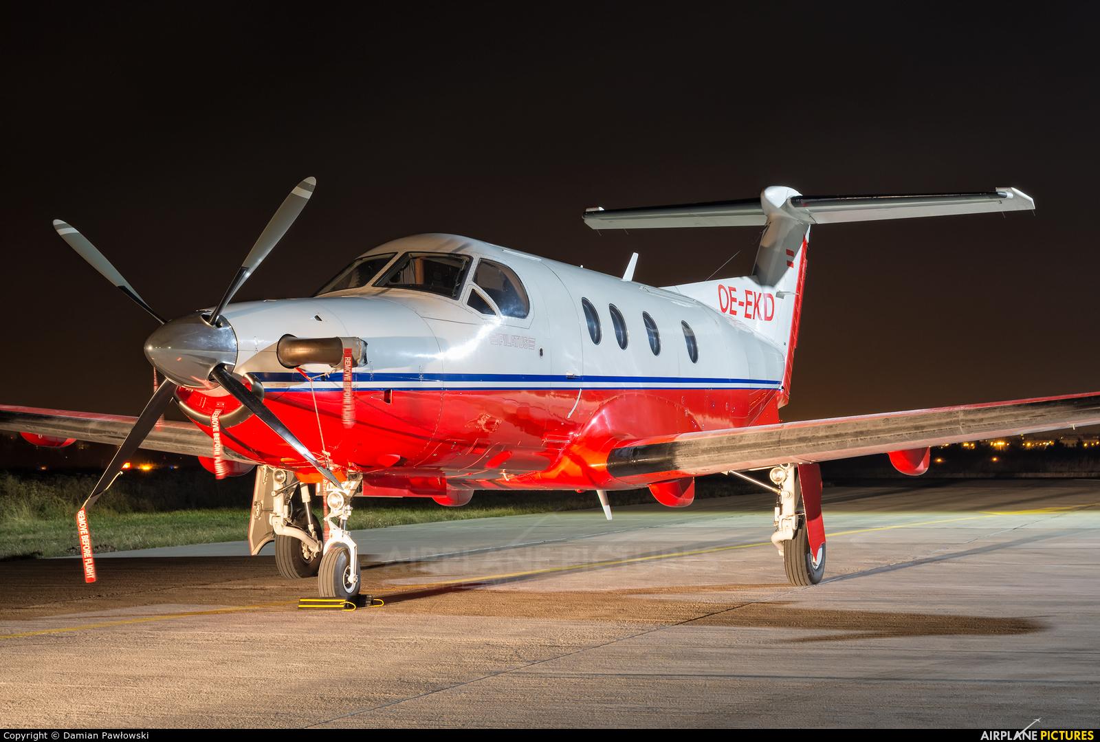 Private OE-EKD aircraft at Bydgoszcz - Szwederowo