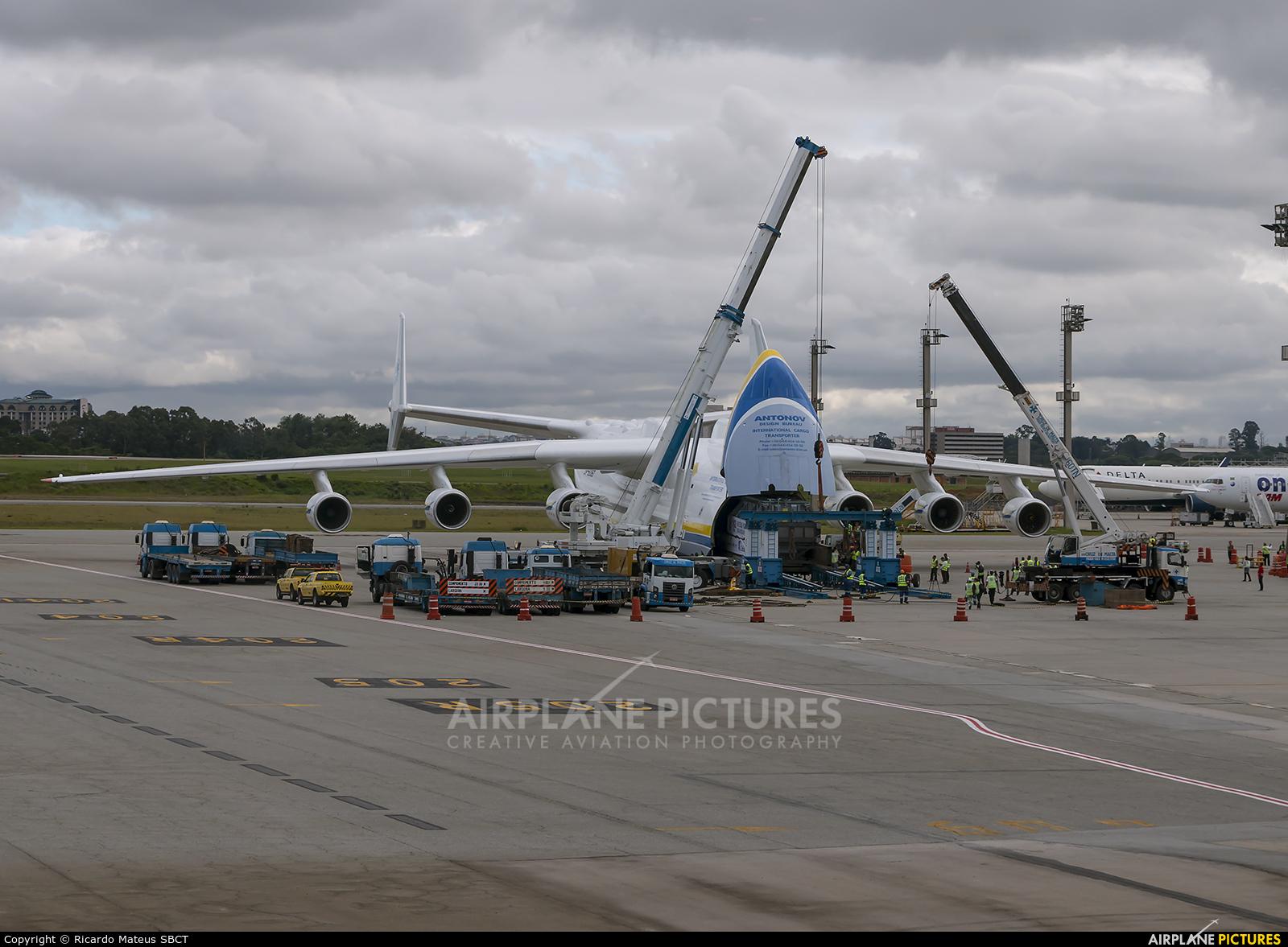 Antonov Airlines /  Design Bureau UR-82060 aircraft at São Paulo - Guarulhos