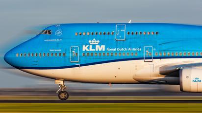 PH-BFV - KLM Boeing 747-400