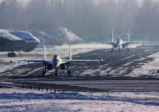 RF-81718 - Russia - Air Force Sukhoi Su-35S