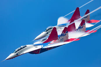 """07 - Russia - Air Force """"Strizhi"""" Mikoyan-Gurevich MiG-29"""
