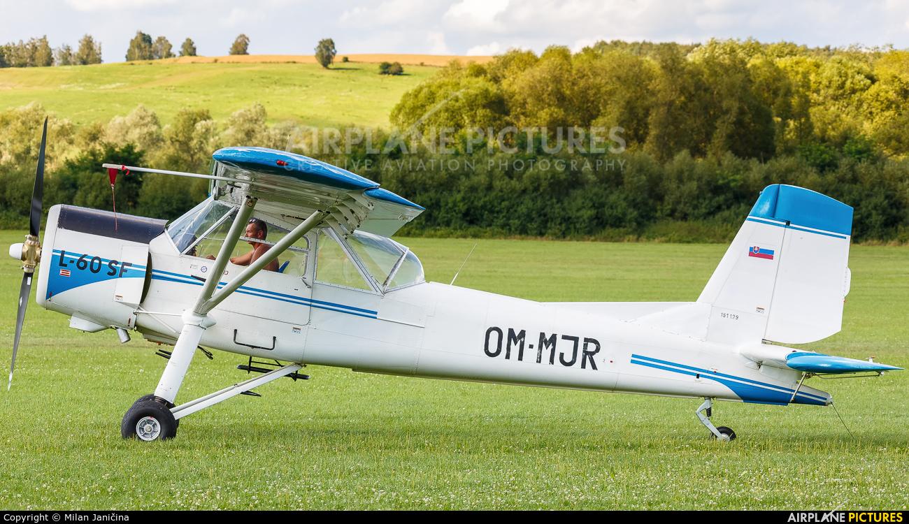 Private OM-MJR aircraft at Očová