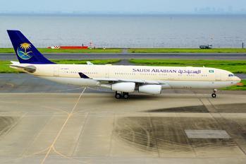 HZ-HMS2 - Saudi Arabia - Royal Flight Airbus A340-200