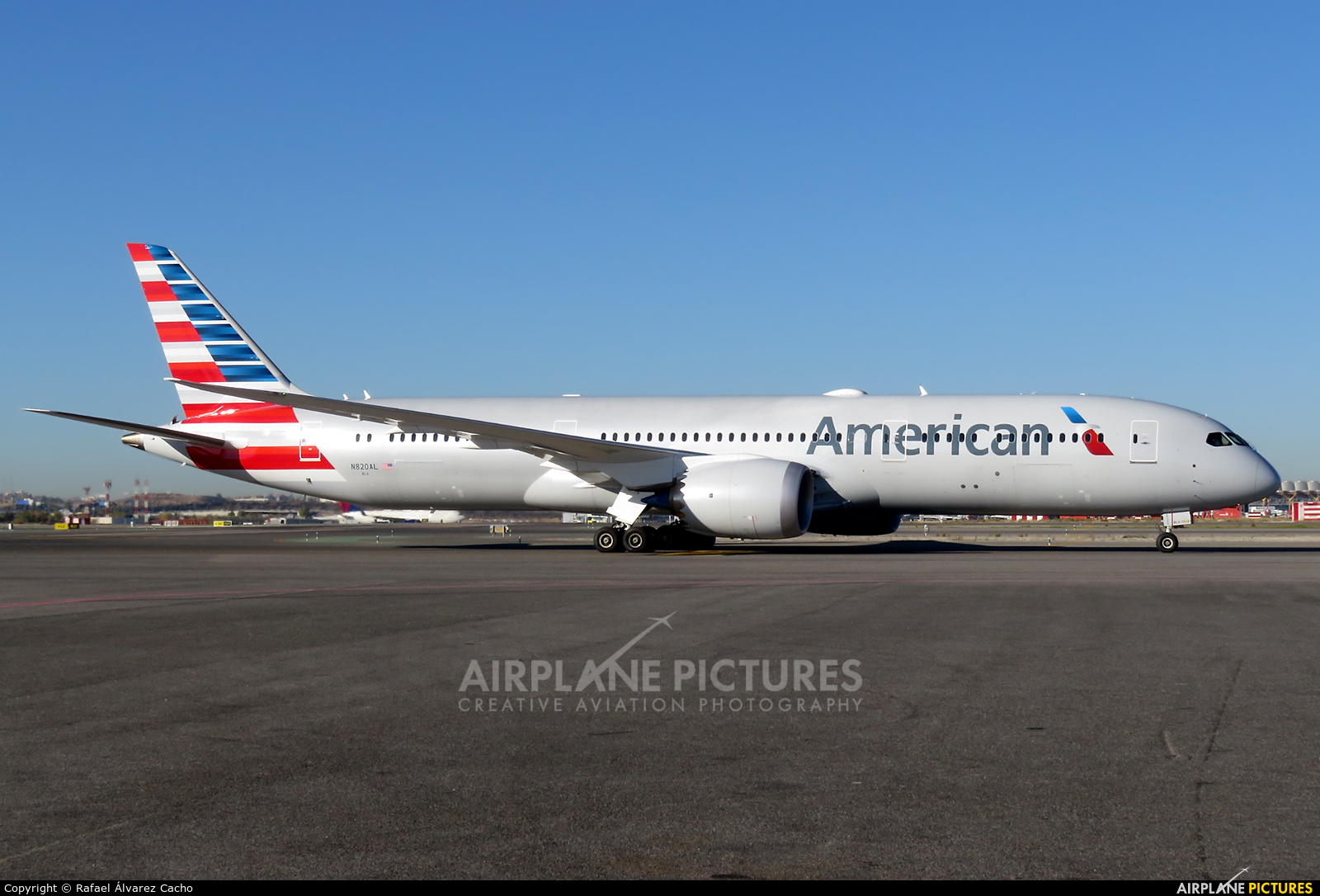 N820al American Airlines Boeing 787 9 Dreamliner At