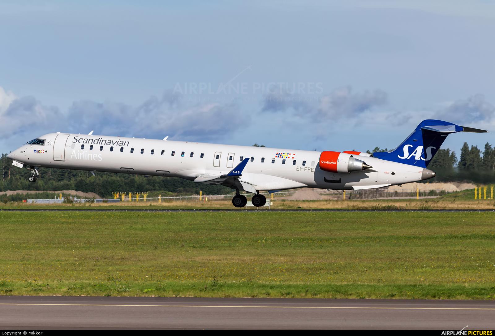 SAS - Scandinavian Airlines EI-FPE aircraft at Helsinki - Vantaa
