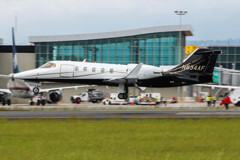 N834AF - Private Learjet 31