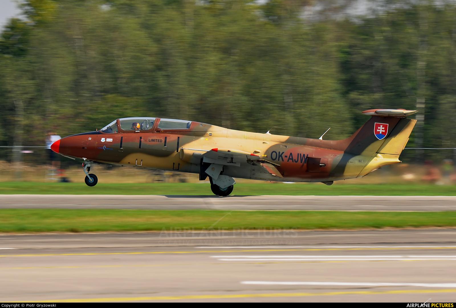 Blue Sky Service OK-AJW aircraft at Hradec Králové