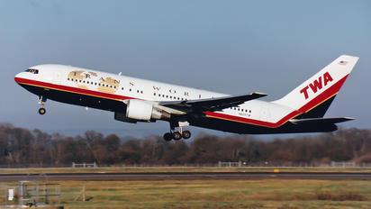 N605TW - TWA Boeing 767-200ER