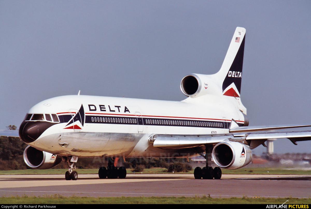 N755dl Delta Air Lines Lockheed L 1011 500 Tristar At