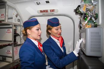 VP-BGQ - Rossiya - Aviation Glamour - Flight Attendant