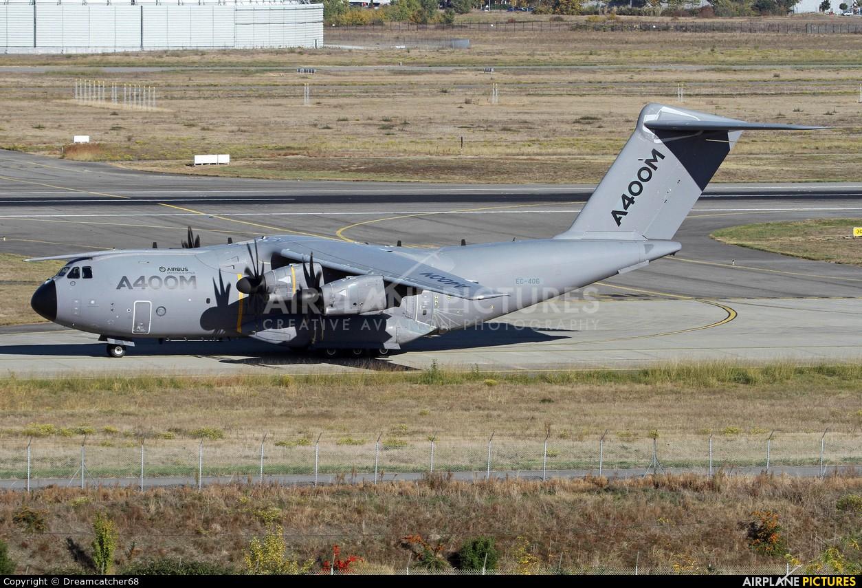 Airbus Military EC-406 aircraft at Toulouse - Blagnac