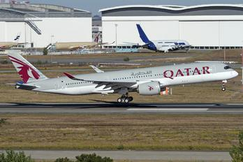 F-WZFH - Qatar Airways Airbus A350-900