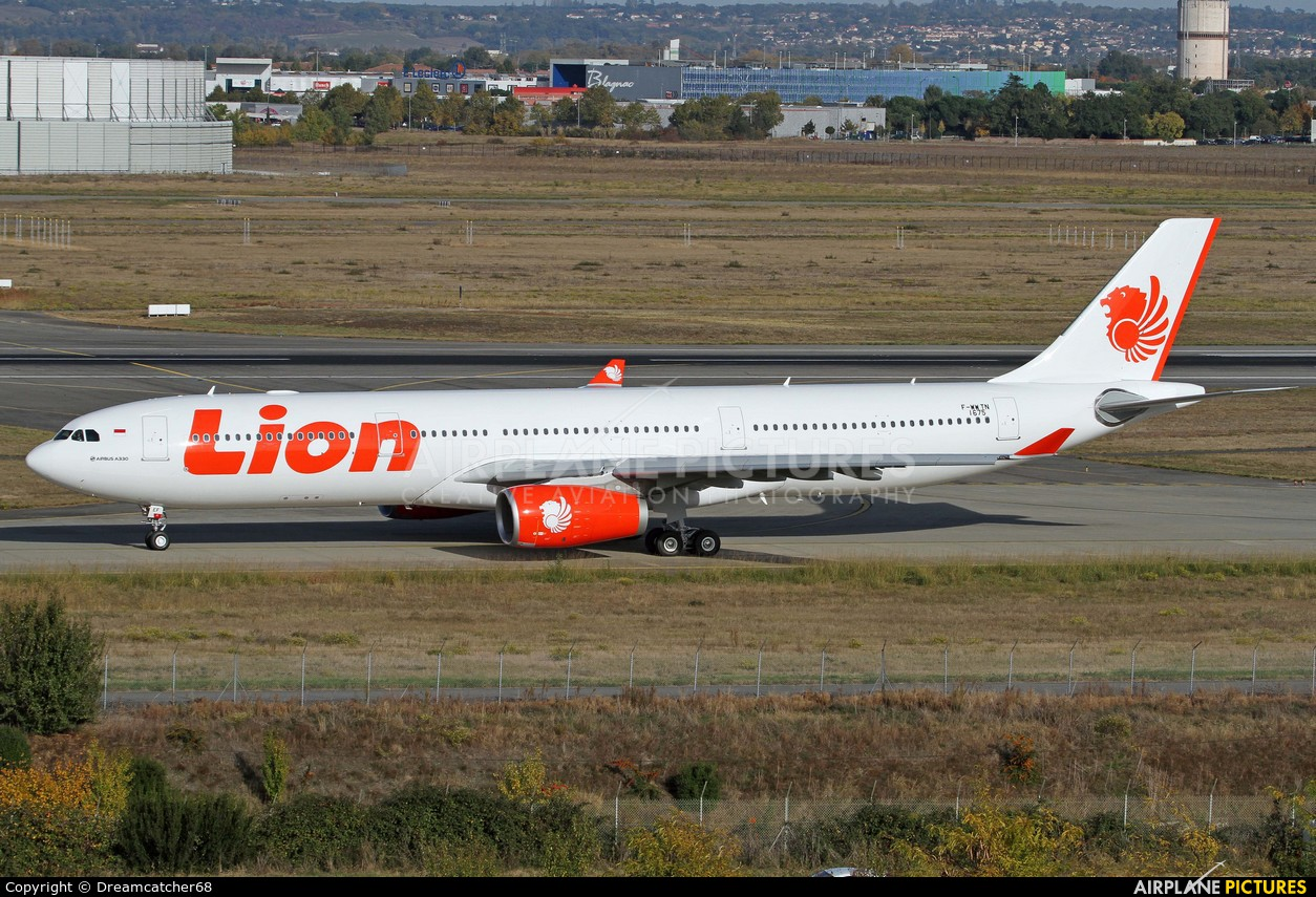 Lion Airlines F-WWTN aircraft at Toulouse - Blagnac