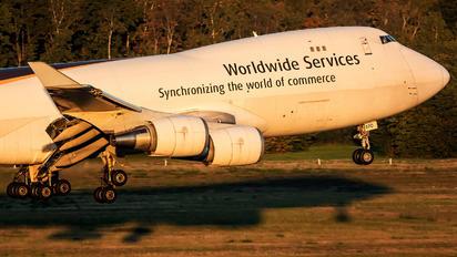 N570UP - UPS - United Parcel Service Boeing 747-400F, ERF