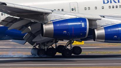 G-BYGF - British Airways Boeing 747-400