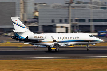 PH-CTH - Flying Service Dassault Falcon 2000 DX, EX