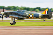 Z7015 - The Shuttleworth Collection Hawker Sea Hurricane IB aircraft