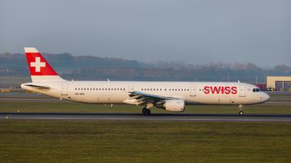 HB-IOH - Swiss Airbus A321