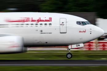 TS-ION - Tunisair Boeing 737-600