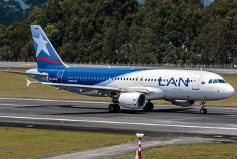 CC-BAS - LAN Colombia Airbus A320