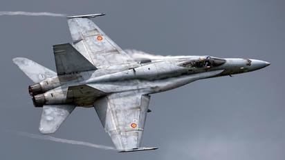 C.15-22 - Spain - Air Force McDonnell Douglas EF-18A Hornet